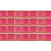 Miyuki Tila Bead 5X5mm 2 Hole Red Transparent Aurora Borealis